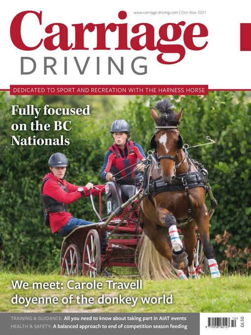Title details for Carriage Driving by Mark Allen Business & Leisure - Available