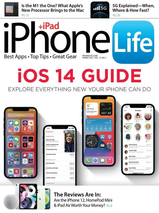Title details for iPhone Life Magazine by Mango Life Media LLC - Available