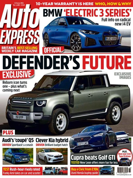 Title details for Auto Express by Autovia Limited - Available