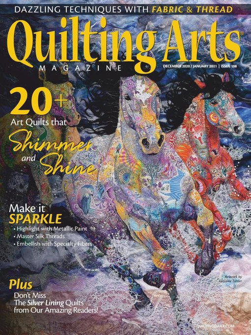 Title details for Quilting Arts Magazine by Peak Media Properties, LLC - Available