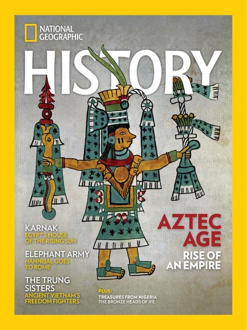 Title details for National Geographic History by National Geographic Society - Available