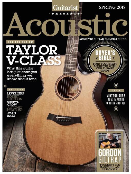 Guitarist Presents Acoustic: Spring