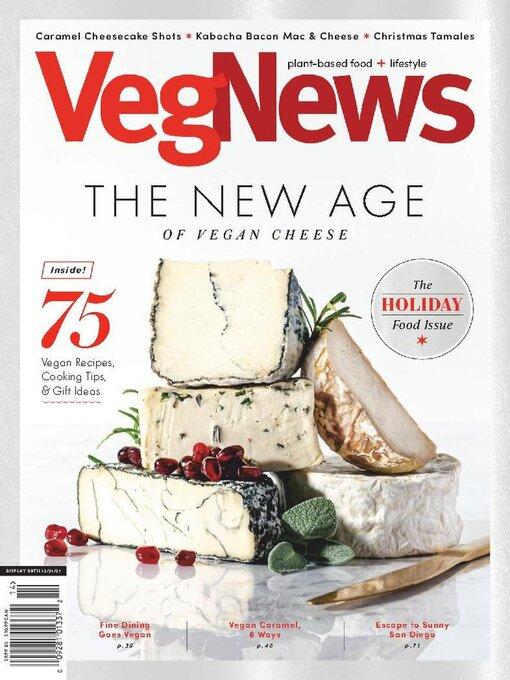 Title details for VegNews Magazine by VegNews - Available