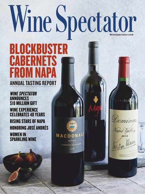 Title details for Wine Spectator by M Shanken Communications - Available