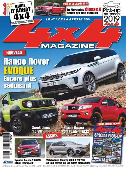 Title details for 4x4 magazine by Editions Lariviere SAS - Available