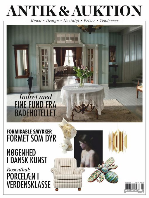 Title details for Antik & Auktion Denmark by Aller Media A/S - Available