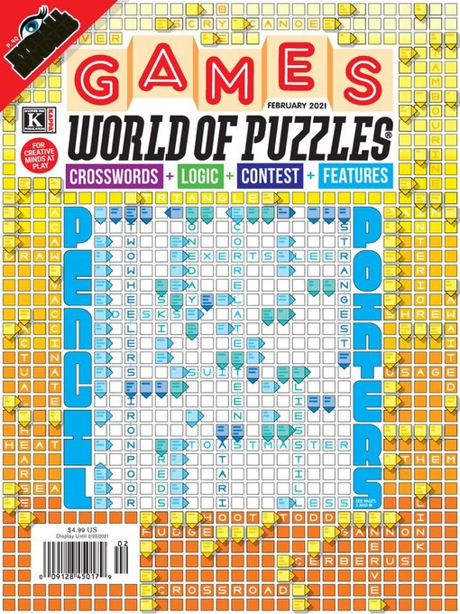 Title details for Games World of Puzzles by Kappa Publishing Group, Inc. - Available