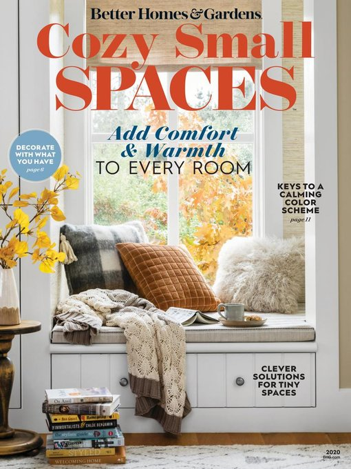 Title details for BH&G Cozy Small Spaces by Meredith Corporation - Available