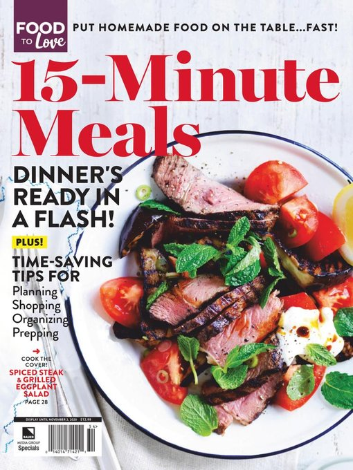 Title details for 15-Minute Meals by Heinrich Bauer Publishing, L. P. - Available