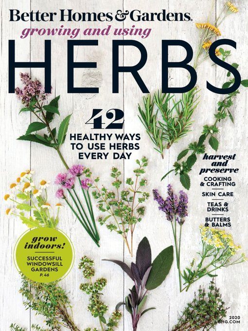 Title details for Better Homes & Gardens Growing and Using Herbs by Meredith Corporation - Available