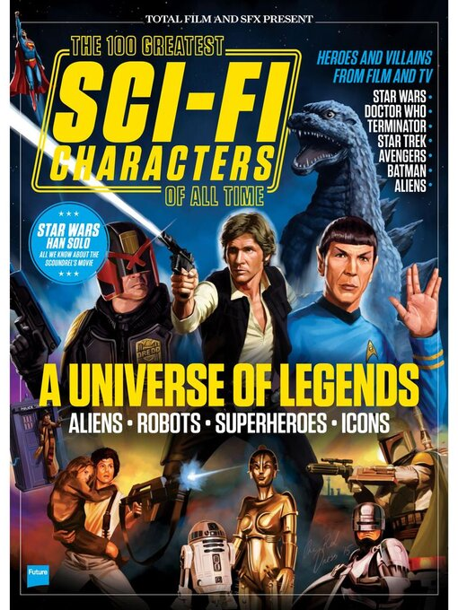 Title details for The 100 Greatest Sci-Fi Characters Of All Time by Future Publishing Ltd - Available