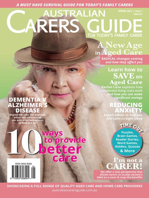 Australian Carers Guide Nsw/ Act