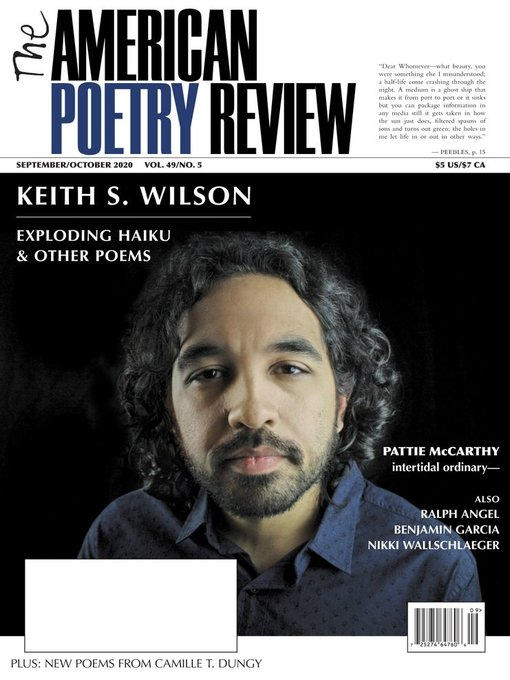 Title details for The American Poetry Review by World Poetry, Inc - Available