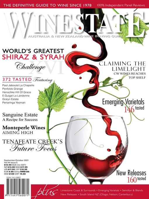 Title details for Winestate Magazine by Winestate Magazine - Available