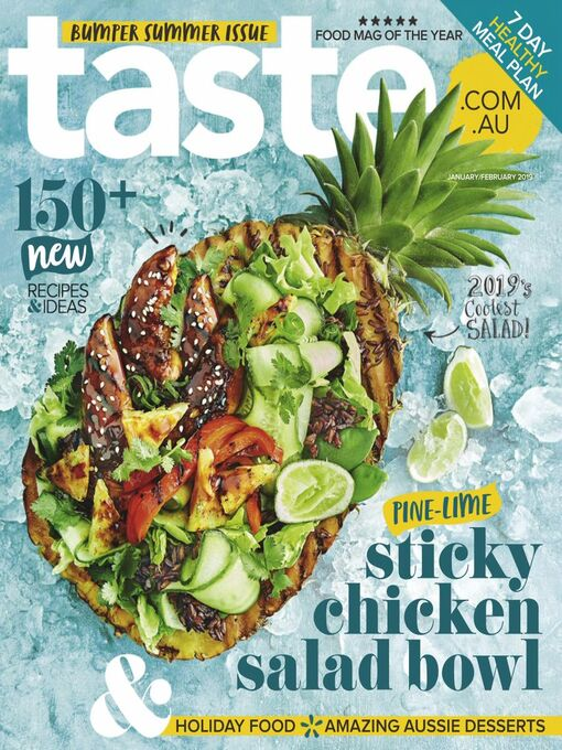 Title details for Taste.com.au by News Life Media Pty Limited - Available