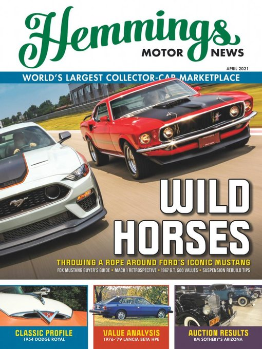 Title details for Hemmings Motor News by American City Business Journals_Hemmings - Available