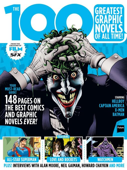 Title details for The 100 Greatest Graphic Novels Of All Time by Future Publishing Ltd - Available