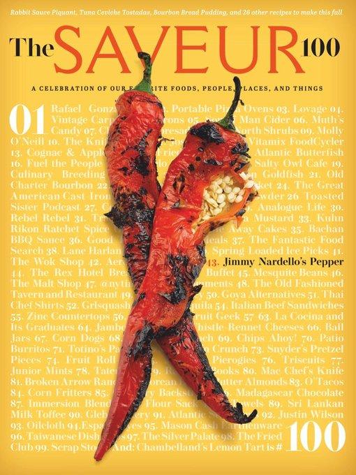 Title details for Saveur by Bonnier Corporation - Available
