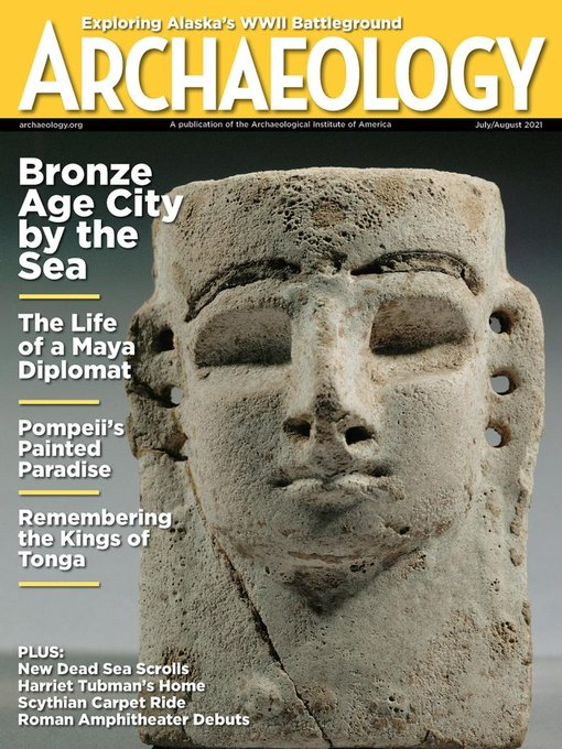 Title details for ARCHAEOLOGY by Archaeological Institute of America - Available
