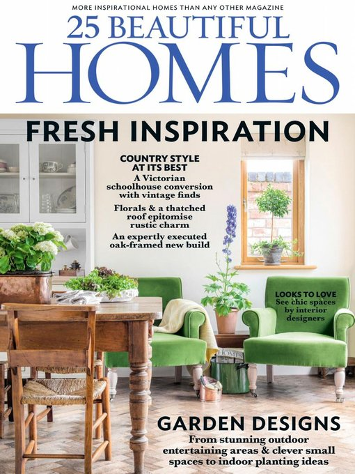 Title details for 25 Beautiful Homes by Future Publishing Ltd - Available