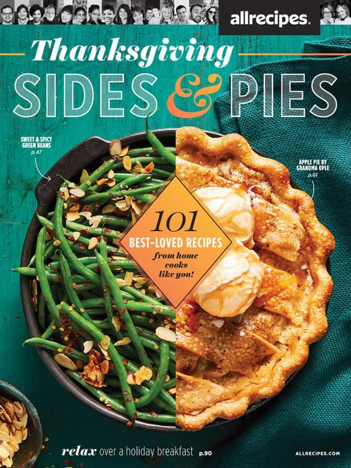 Title details for allrecipes Thanksgiving Pies & Sides by Meredith Corporation - Available