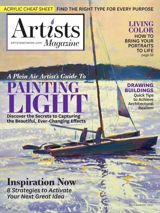 Title details for Artists Magazine by Peak Media Properties, LLC - Available