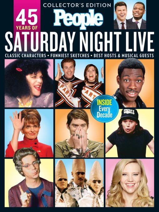 People Saturday Night Live! 45 Years Later