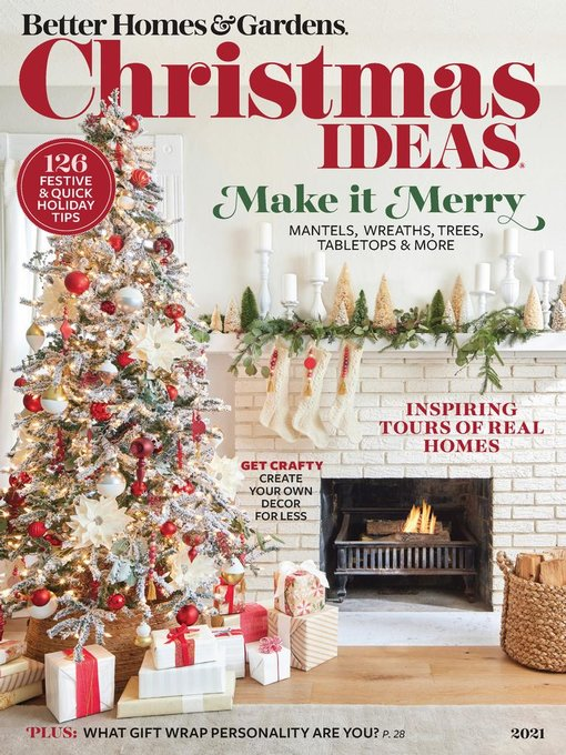 Title details for BH&G Christmas Ideas by Meredith Corporation - Available