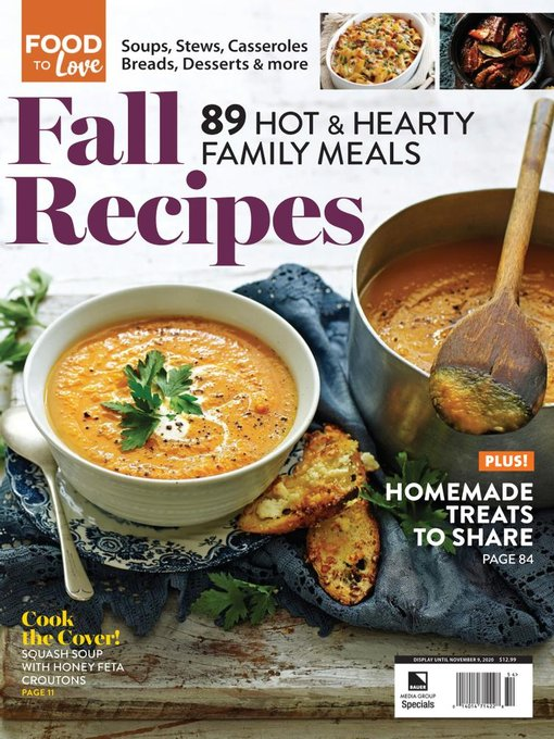 Title details for Fall Recipes by Heinrich Bauer Publishing, L. P. - Available