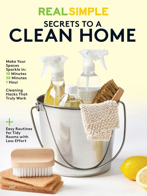 Title details for Real Simple Secrets to a Clean Home by Meredith Corporation - Available