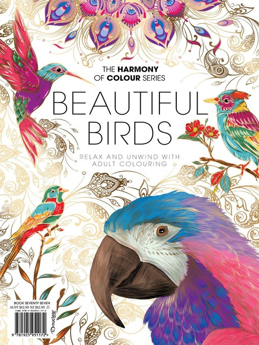 Colouring Book: Beautiful Birds