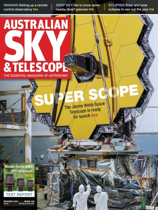 Title details for Australian Sky & Telescope by Paragon Media Pty Ltd - Available