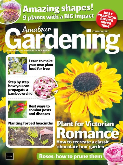 Title details for Amateur Gardening by Future Publishing Ltd - Available