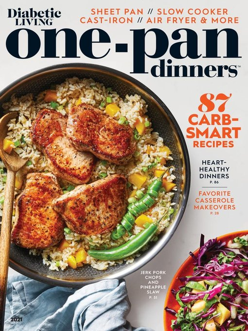 Title details for Diabetic Living One-Pan Dinners by Meredith Corporation - Available