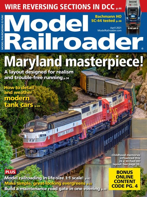 Title details for Model Railroader by Kalmbach Publishing Co. - Magazines - Available