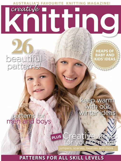 Title details for Creative Knitting by Sunray Publications Pty Ltd - Available