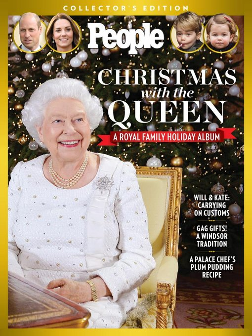 Title details for PEOPLE Christmas with the Queen by Meredith Corporation - Available