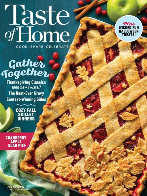 Title details for Taste of Home by Trusted Media Brands Inc. - Available