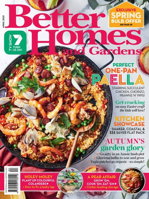 Title details for Better Homes and Gardens Australia by Are Media Pty Limited - Available