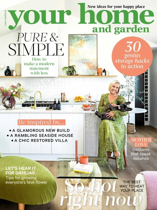 Title details for Your Home and Garden by Are Media Pty Limited - Available