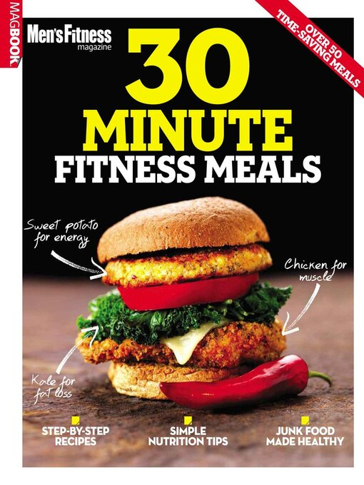 Title details for Men Fitness 30-min Meals by Dennis Publishing UK - Available