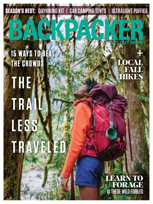 Title details for Backpacker by Pocket Outdoor Media, LLC - Available