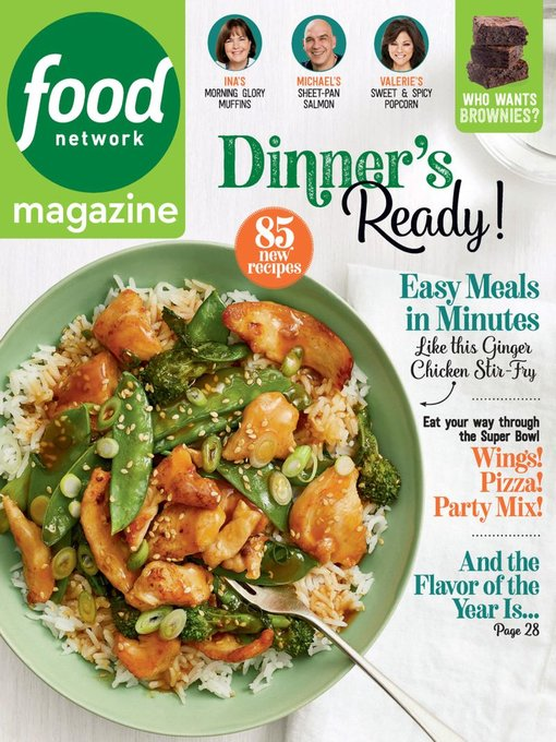 Title details for Food Network Magazine by Hearst - Available