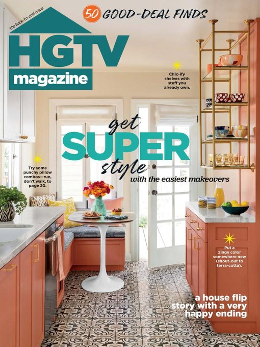Title details for HGTV Magazine by Hearst - Available