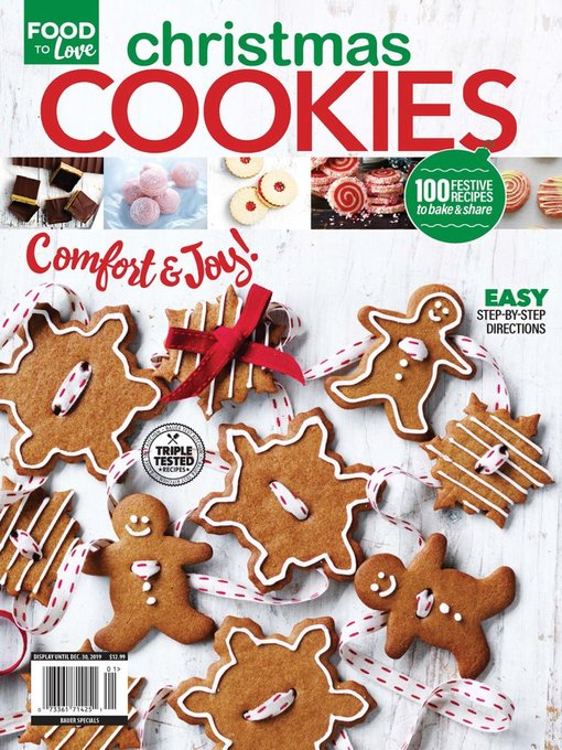 Title details for Christmas Cookies by Heinrich Bauer Publishing, L. P. - Available