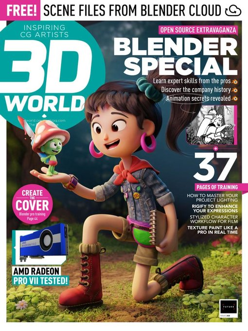 Title details for 3D World by Future Publishing Ltd - Available