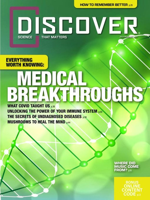 Title details for Discover by Kalmbach Publishing Co. - Magazines - Available