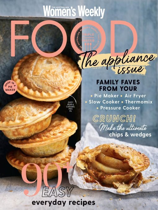Title details for The Australian Women's Weekly Food by Are Media Pty Limited - Available