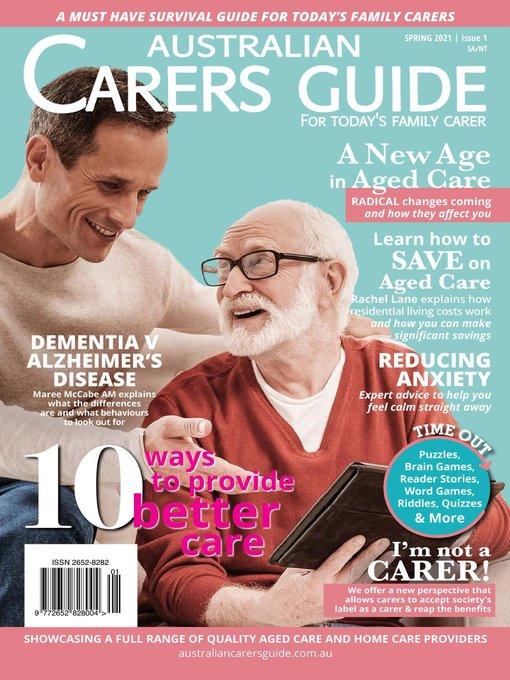 Australian Carers Guide Sa/ Nt