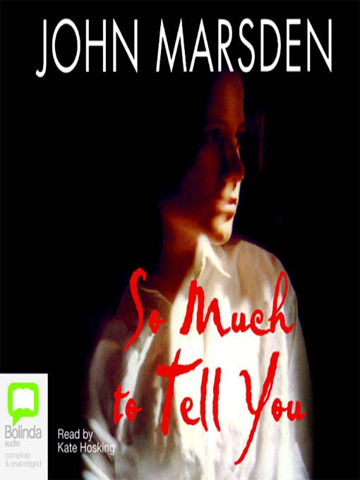 so much to tell you john marsden essay John marsden has yet to let me down his writing is always thoughtful, poignant, realistic and adventurous so much to tell you is definitely up to par.